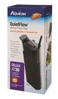 Aqueon QuietFlow AT30 Medium Internal Power Filter