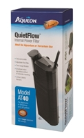 Aqueon QuietFlow AT40 Large Internal Power Filter