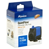 Aqueon QuietFlow Submersible Utility Pump 1200