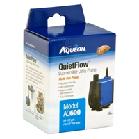 Aqueon QuietFlow Submersible Utility Pump 600