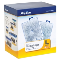 Aqueon Replacement Filter Cartridge, Large, 12 Pack