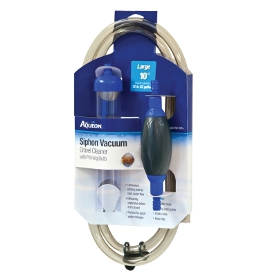 Aqueon Siphon Vacuum with Bulb, 10 in