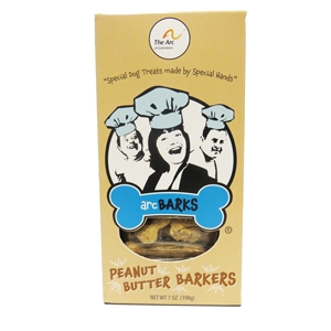 arcBARKS Peanut Barker Dog Treats, 7 oz