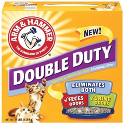 Arm & Hammer Double Duty Clumping Litter, 15 lb - 2 Pack