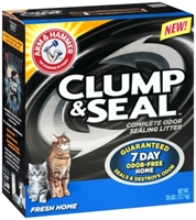 Arm & Hammer Clump & Seal Fresh Home Cat Litter, 28 lbs