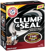Arm & Hammer Clump & Seal Multi-Cat Litter, 28 lbs