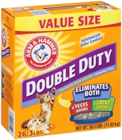 Arm & Hammer Double Duty Clumping Litter, 26.3 lbs
