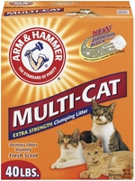 Arm & Hammer Multi-Cat Litter, 40 lbs