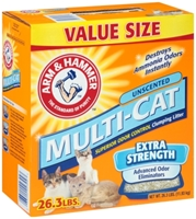 Arm & Hammer Multi-Cat Unscented Litter, 26.3 lbs