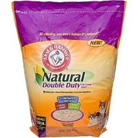 Arm & Hammer Natural Double Duty Cat Litter, 15 lbs - 2 Pack