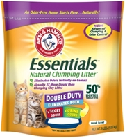 Arm & Hammer Natural Double Duty Cat Litter, 9 lbs - 3 Pack