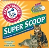 Arm & Hammer Super Scoop Cat Litter, 20 lbs - 2 Pack