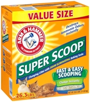 Arm & Hammer Super Scoop Cat Litter, 26.3 lbs