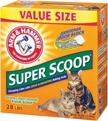 Arm & Hammer Super Scoop Cat Litter, 28 lbs
