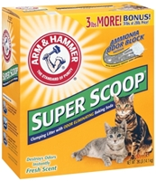 Arm & Hammer Super Scoop Cat Litter, 31 lbs