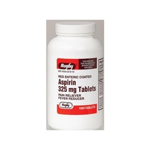Aspirin 325 mg, 60 Tablets