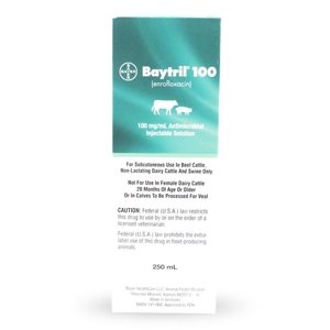 Baytril 100, 250 ml
