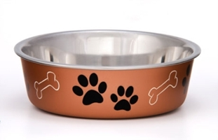 Bella Bowl- Copper Metallic- Large
