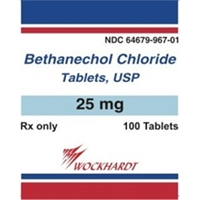 Bethanechol 25 mg, 100 Tablets