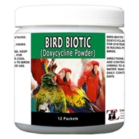 Bird Biotic (Doxycycline) Powder 100 mg, 12 Packets