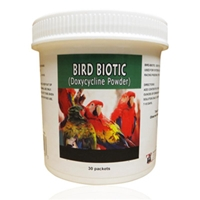 Bird Biotic (Doxycycline) Powder 100 mg, 30 Packets