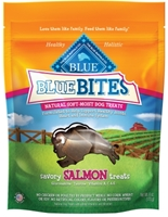 Blue Buffalo Blue Bites Natural Dog Treats, Salmon, 6 oz