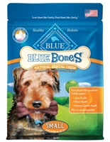 Blue Buffalo Blue Bones Natural Dog Treats, Small, 12 oz