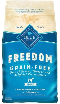 Blue Buffalo Blue Freedom Dry Dog Food, Chicken, 11 lbs