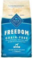 Blue Buffalo Blue Freedom Dry Dog Food, Chicken, 4 lbs