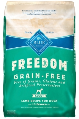 Blue Buffalo Blue Freedom Dry Dog Food, Lamb, 11 lbs