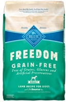 Blue Buffalo Blue Freedom Dry Dog Food, Lamb, 24 lbs