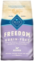 Blue Buffalo Blue Freedom Dry Indoor Cat Food, Chicken, 11 lbs