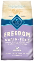 Blue Buffalo Blue Freedom Dry Indoor Cat Food Kitten Recipe, Chicken, 5 lbs