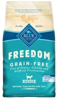 Blue Buffalo Blue Freedom Dry Indoor Cat Food, Whitefish, 2 lbs