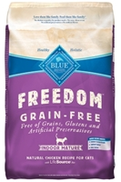 Blue Buffalo Blue Freedom Dry Indoor Mature Cat Food, Chicken, 11 lbs