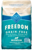 Blue Buffalo Blue Freedom Dry Large Breed Dog Food, Lamb, 24 lbs