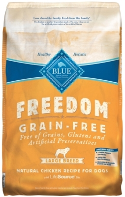 Blue Buffalo Blue Freedom Dry Small Breed Dog Food, Chicken, 24 lbs