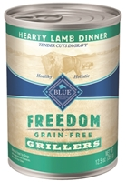 Blue Buffalo Blue Freedom Wet Dog Food, Lamb, 12.5 oz, 12 Pack