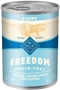 Blue Buffalo Blue Freedom Wet Dog Food Puppy Recipe, Chicken, 12.5 oz, 12 Pack