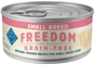 Blue Buffalo Blue Freedom Wet Dog Food Small Breed Recipe, Chicken, 5.5 oz, 24 Pack