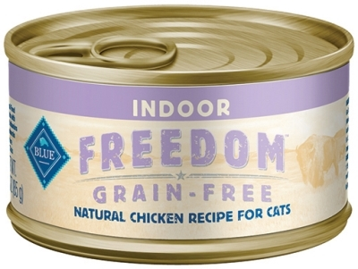 Blue Buffalo Blue Freedom Wet Indoor Cat Food, Chicken, 3 oz, 24 Pack
