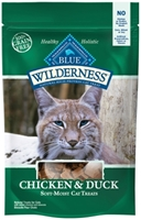 Blue Buffalo BLUE Wilderness Cat Treats, Chicken & Duck, 2 oz