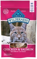 Blue Buffalo BLUE Wilderness Cat Treats, Chicken & Salmon, 2 oz