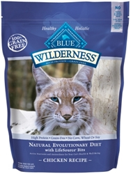 Blue Buffalo BLUE Wilderness Dry Cat Food, Chicken, 2.5 lbs