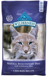 Blue Buffalo BLUE Wilderness Dry Cat Food, Chicken, 6 lbs