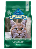 Blue Buffalo BLUE Wilderness Dry Cat Food, Duck, 5 lbs