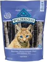 Blue Buffalo BLUE Wilderness Dry Cat Food Kitten Recipe, Chicken, 2 lbs