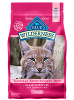 Blue Buffalo BLUE Wilderness Dry Cat Food, Salmon, 5 lbs