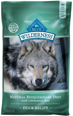 Blue Buffalo BLUE Wilderness Dry Dog Food, Duck, 24 lbs