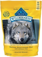 Blue Buffalo BLUE Wilderness Dry Dog Food Healthy Weight Recipe, Chicken, 4.5 lbs